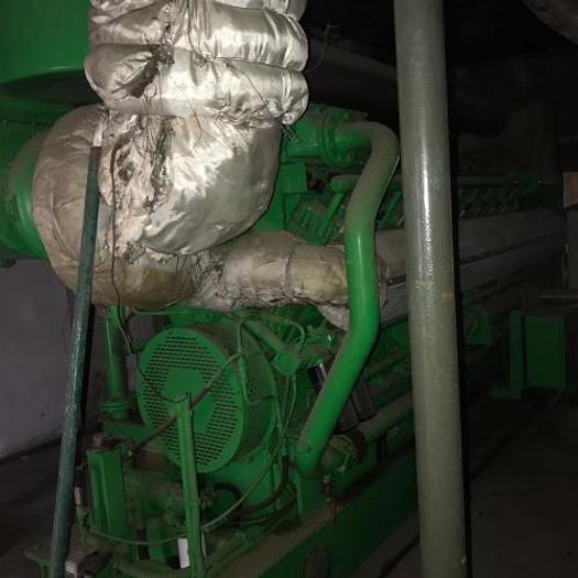 1.06 MW 2004 Used Jenbacher J320GS Used Natural Gas Generator