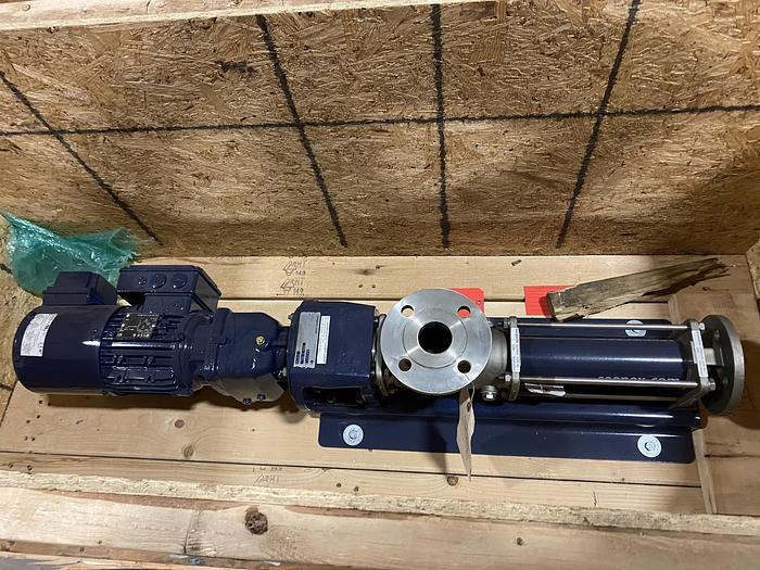 Used SEEPEX BN TYPE SINGLE STAGE PROGRESSIVE CAVITY PUMP
