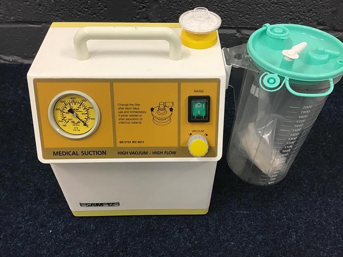 Used MGE Sam 12 Portable Suction Unit Sam12