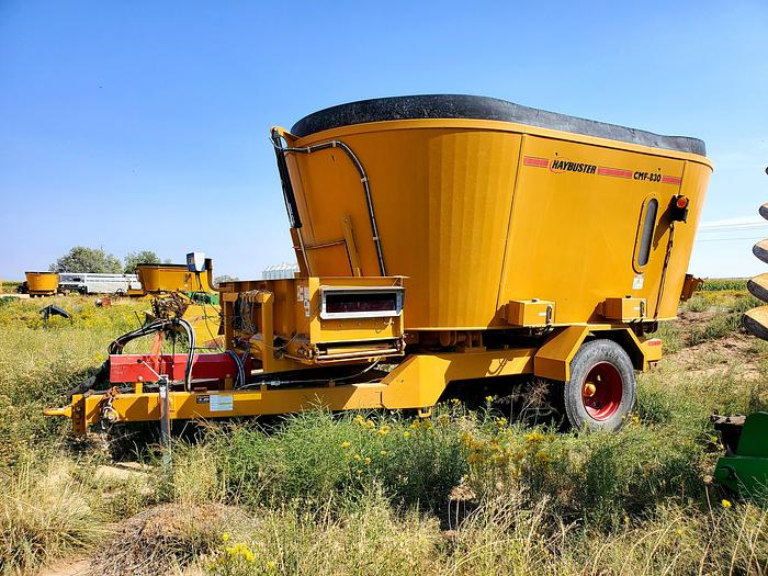 Used 2016 HayBuster CMF-830 Vertical Feed Mixer
