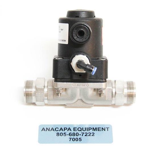 Used GEMU 615015D-134521 Pneumatically Operated Diaphragm Valve USED (7005)