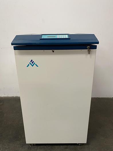 Used Chart MVE XLC 500 Liquid Nitrogen Cryogenic Storage Tank w/ TEC 2000 System Monitor