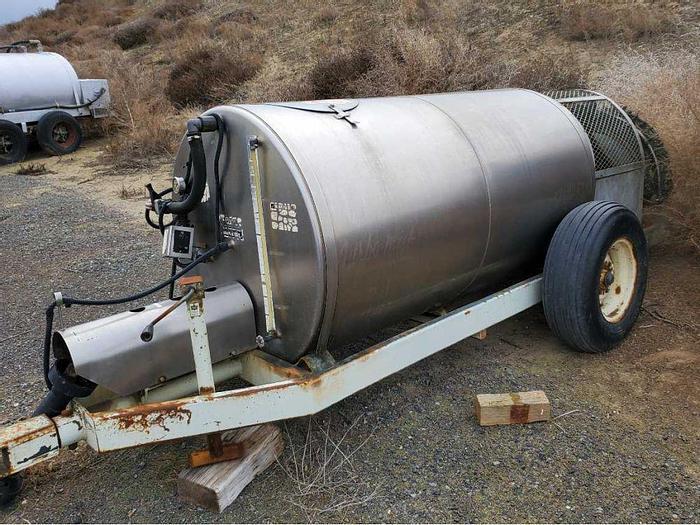 Used Slimline Turbo-Mist 400 Orchard Sprayer