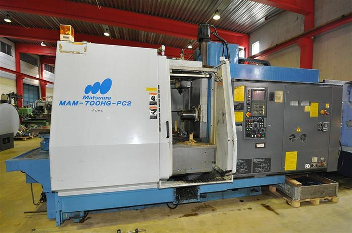 Used DC04 - Matsuura - MAM 700 HG – PC2