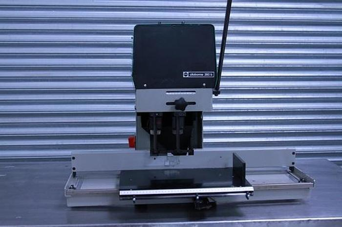 Used Twin Nagel Citoborma 280B Paper Drill
