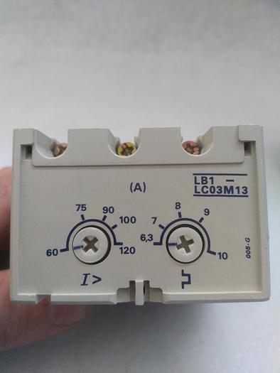 Überlastschalter, Protection Modul LB1-LC03M13, Telemechanique,  neu