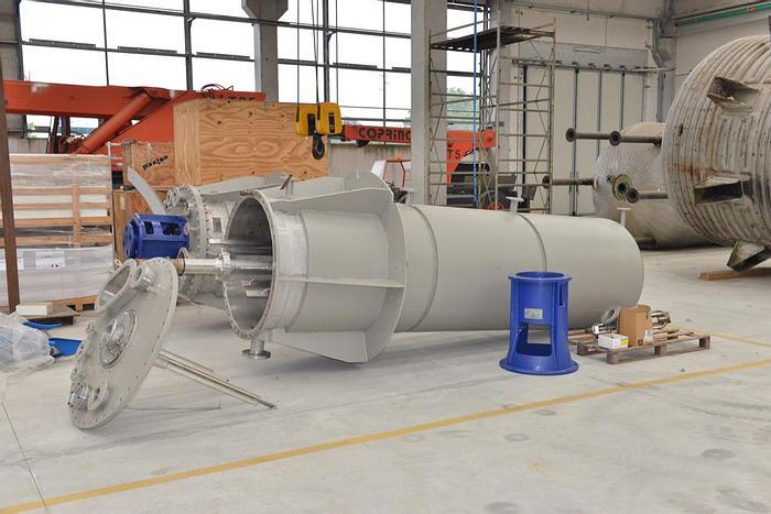 Usata Reattore OLMI ex MAZZUCC. da 3400 Litri