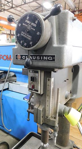 """Used Clausing 20"""" Manual Feed Drill Press 2274"""