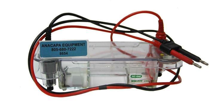Used Bio-Rad Sub-GT Mini Electrophoresis System, 150VDC, 10Watt (8654)W