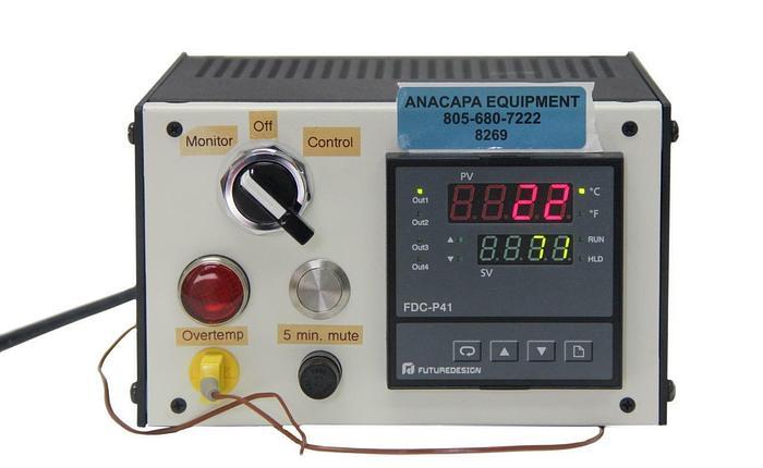 Used Future Design Controls FDC-P41 Temperature Controller With Custom Box (8269)W