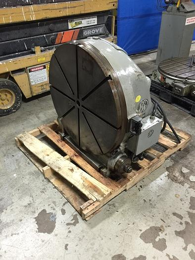 "PRATT & WHITNEY MODEL M-1835 30"" VERTICAL ROTARY TABLE"
