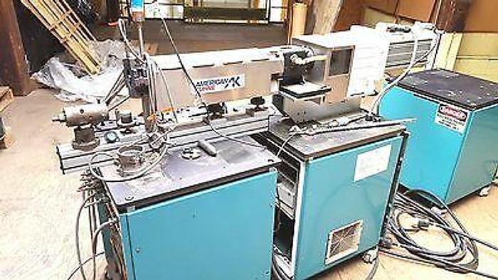 Used American Kuhne Servo Contr. Plastic Extruder easy changeover Extrusion Profiles