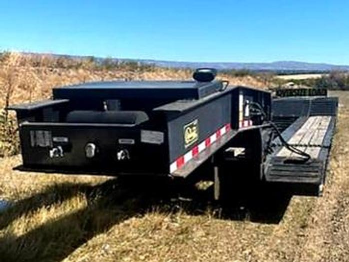 Used 2016 Witzco Challenger RG50 Lowboy / RGN Trailer