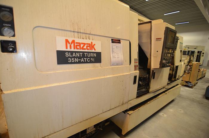 Used MS40 - Mazak SLANT TURN 35N ATC 1500