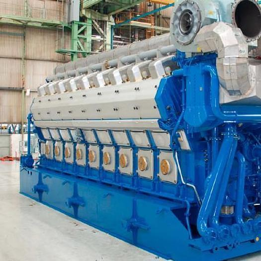 5 MW New Himsen 16H25/33V HFO Generator