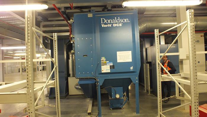 Used 2011 DONALDSON TORRIT   DFO 3-18