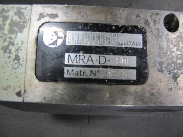 Angetriebenes Werkzeug VDI 50 Werkzeugaufnahme Baruffaldi MRA D-50