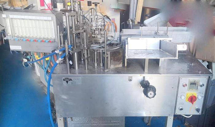 Used ROTA R910 Ampoule Filling  & Closing Machine