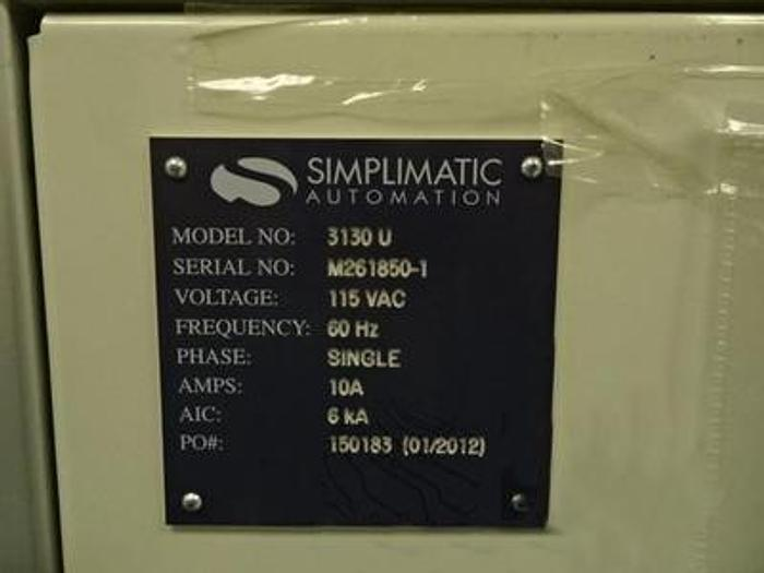 Used Simplimatic  CIMTRAK 3130U Multi Magazine unloader (front of line) - 01/2012