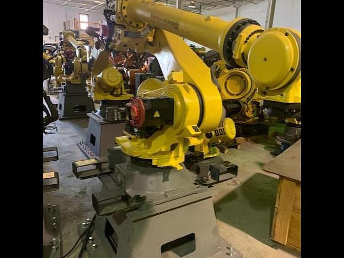 Used FANUC R2000iC/125L 6 AXIS CNC ROBOT WITH R30iB CONTROLLER, 125KG X 3,100 MM H REACH