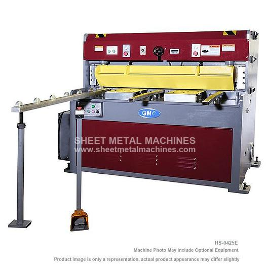 "GMC Machine Tools Hydraulic Shear with 24"" Power Back Gauge HS-0425E"