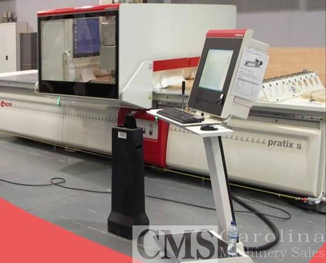Used SCMI Pratix S15 CNC Router