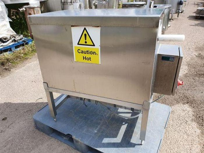 Used Stainless Steel Utensil Wash Tank with Heater