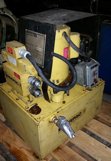 Used Enerpac Model PER4045A Hydraulic Power Unit