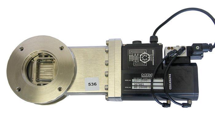 Used MDC High Vacuum Pneumatic Gate Valve LGV-2500V-P 307003 (536)W