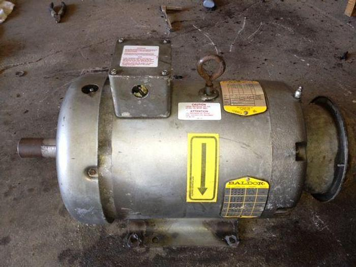 Extract Motor Milnor 135lb washer
