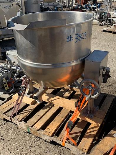 Used LEE 60 Jacketed Kettle Model DN6