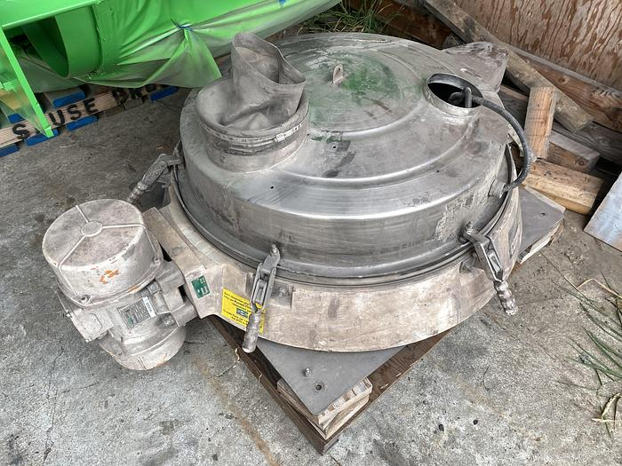 Used Russell compact  screener sifter/sieve, stainless steel,
