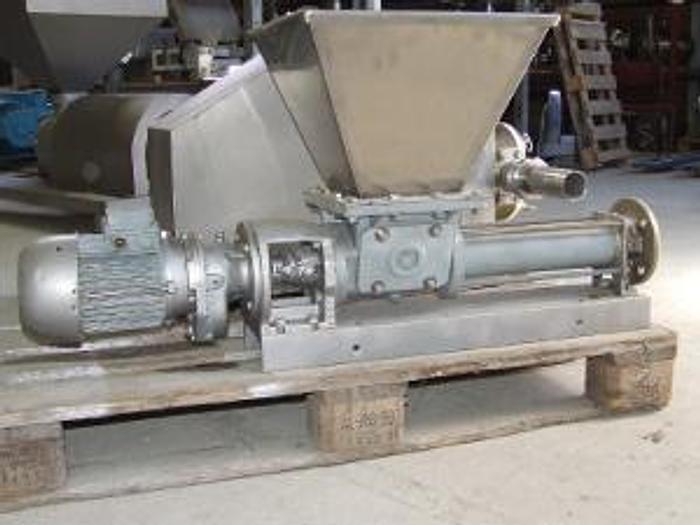 Used Pompa śrubowa SEEPEX z lejem