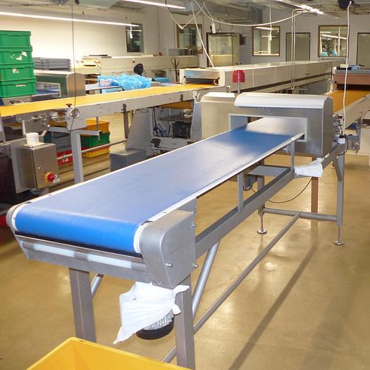 Gebraucht gebr. Metalldetektor OCS Type MN-5-CI-500/125 Type MN-5-CI-500/125 Baujahr 2009