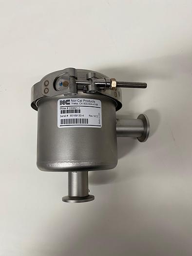 Used Nor-Cal 030821-1 Angle Metal Sieve Trap