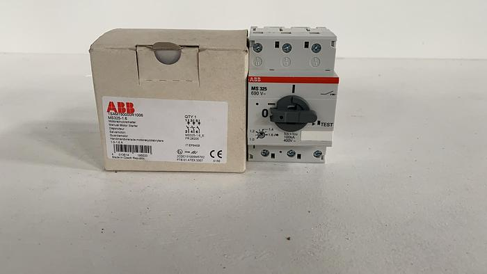 ABB MS325-1-1,6A