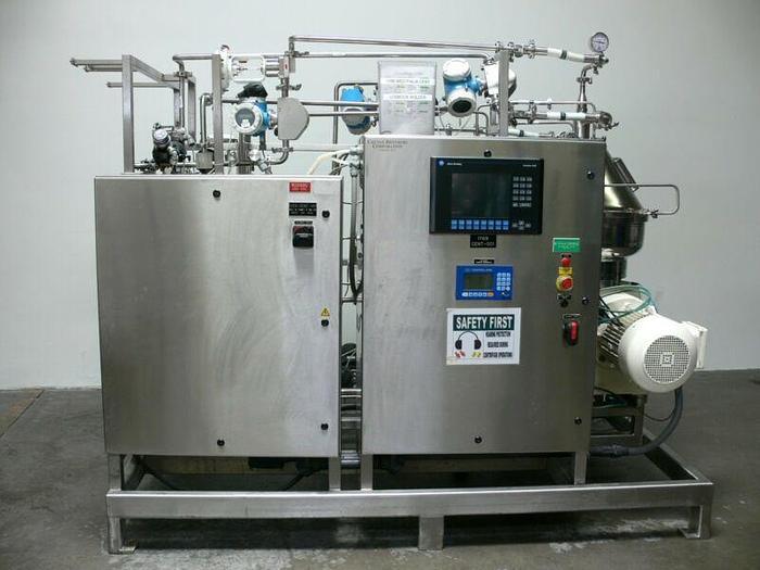 Used Westfalia Clarifier Centrifuge Skid CSC20-01-476 w/ Panelview Controller 2006