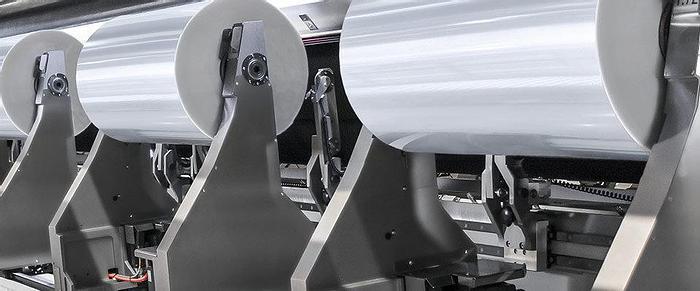 Usato 2002 PSA Impianto per taglio e riavvolgimento carta e alluminio