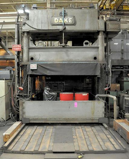 Used Press Die Spotting Hydraulic