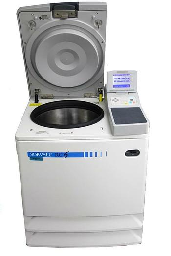 Used Thermo Scientific Sorvall RC-6 Plus Refrigerated Centrifuge, SS-34 Rotor (8101)W