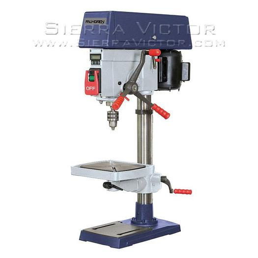 PALMGREN Heavy Duty 16-Speed Bench Drill Press 9680150