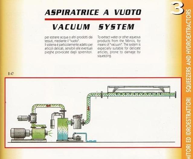 CORINO Vacuum system
