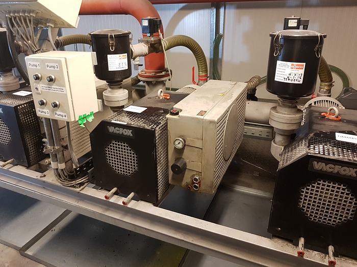 Used 2001 RIETSCHLE VC300 Vaccum Pump