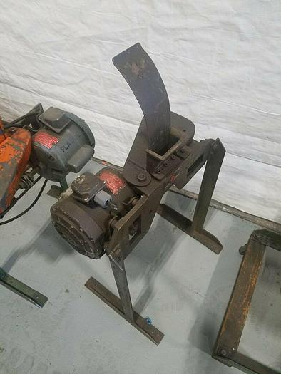 Used Durant Model 100-10 Metal Strip Stock Chopper Stamping Press Side Chopping