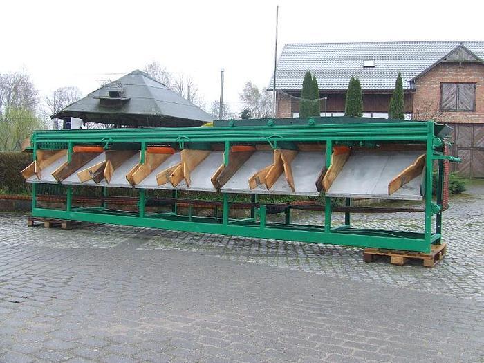 Używane Łańcuszkowy sortownik ogórków - Herbort