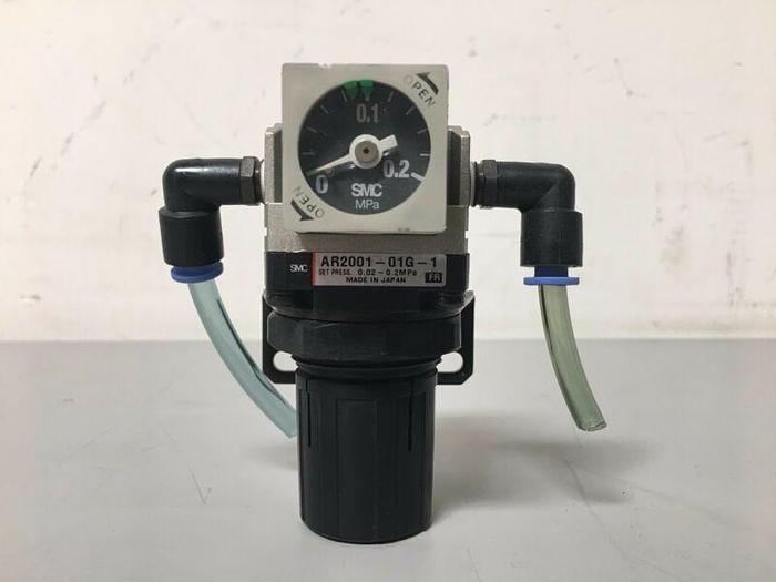 Used SMC AR2001-01G-1 Modular Regulator