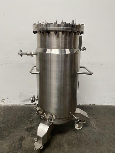 Used Applikon 250 Liter Jacketed Reactor 45 PSI @ 300° F