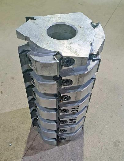 Used 2010 FREUD Italy FREUD TM06M AM3 Helical planer cutterheads