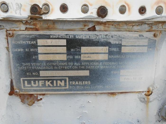 1988 LUFKIN TFV-IP
