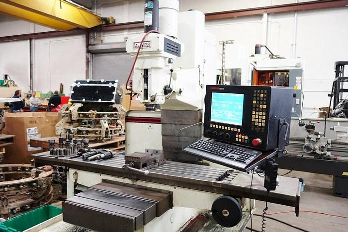 """Used Fryer MB 15 CNC Vertical Mill. 60"""" X Travel"""